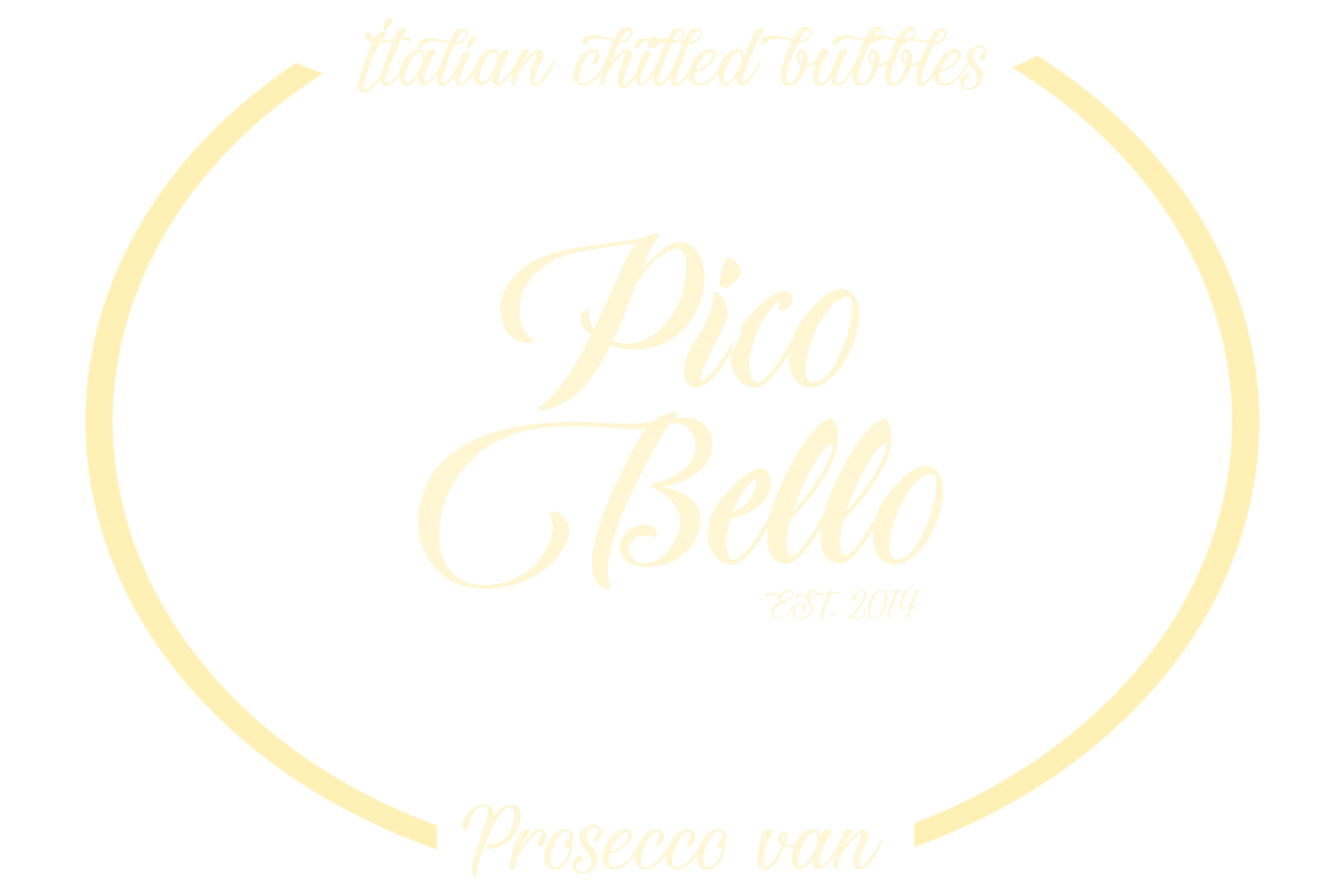 "Prosecco Van ""Picco Bello"" Logo"